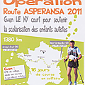 Route asperansa 2011