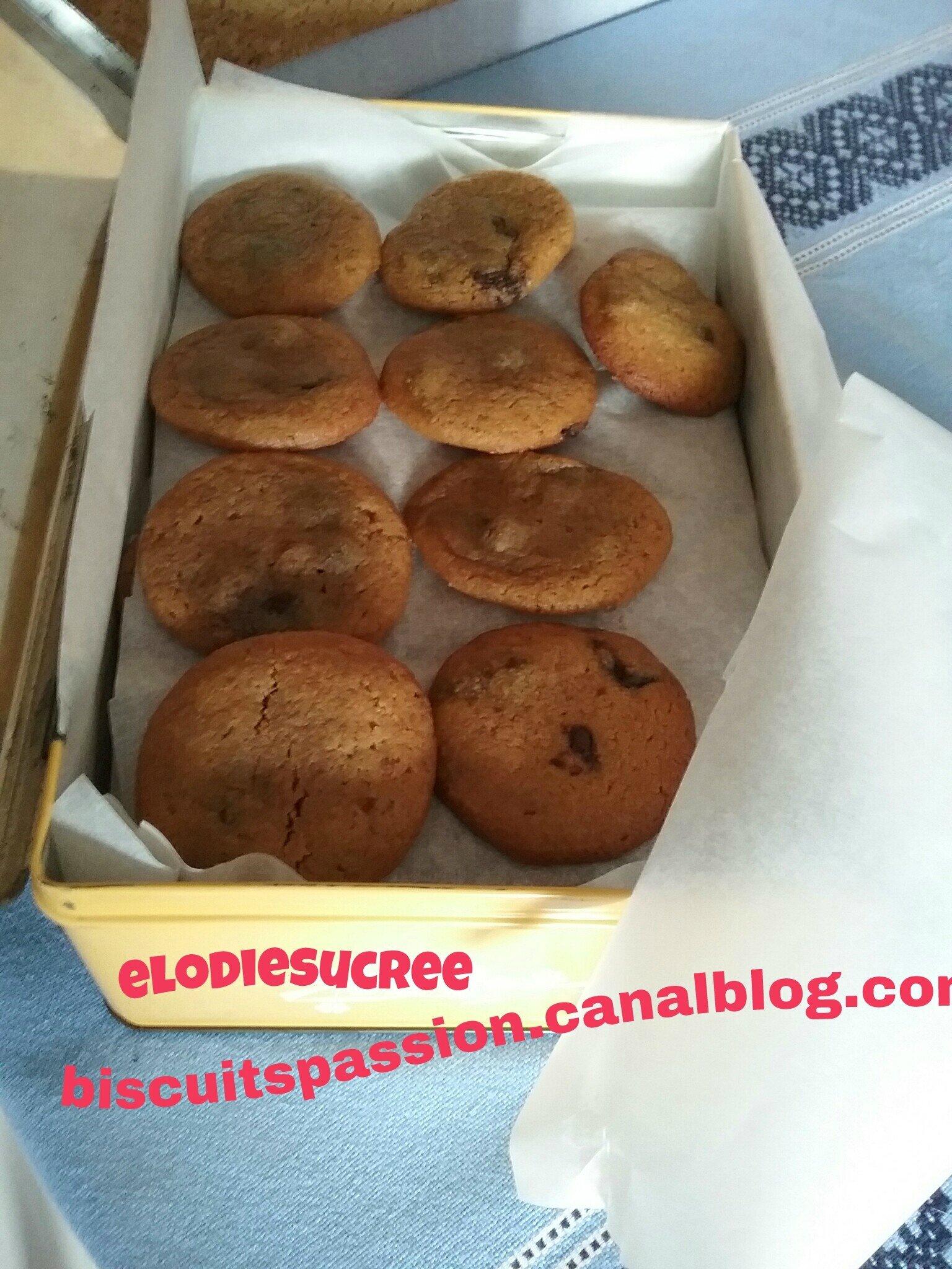 Cookies à la pâte de spéculoos 057
