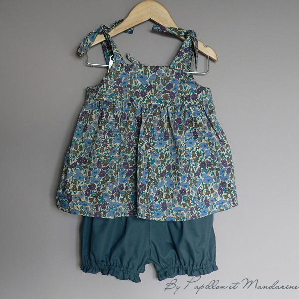 bloomer bleu top poppy&daisy