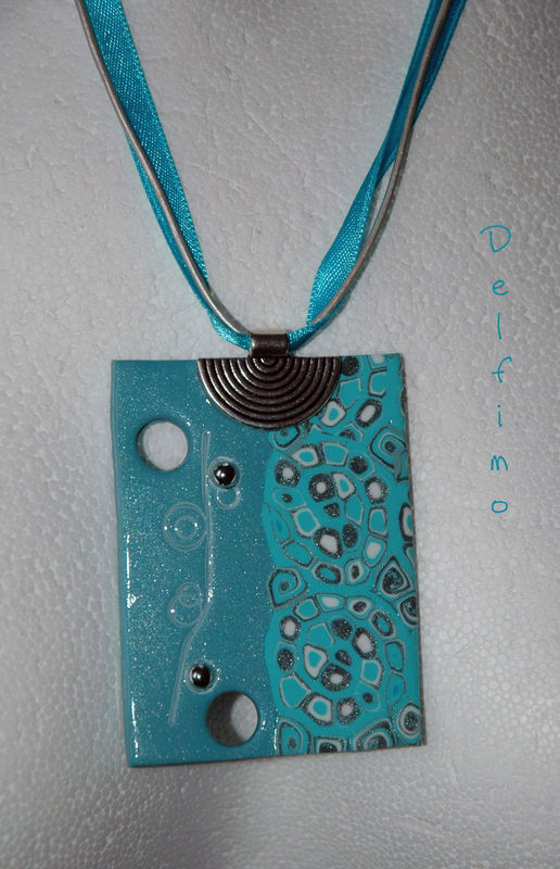 Collier Yo turquoise