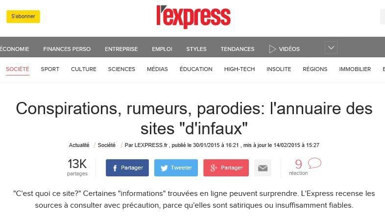 2017-01-04 20_54_58-Conspirations, rumeurs, parodies_ l'annuaire des sites _d'infaux_ - L'Express -