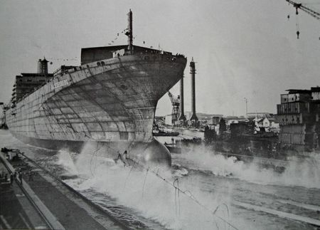 3f) Normed Dunkerque lancement de navire