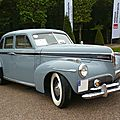 STUDEBAKER Commander Deluxe 4door Sedan 1941 Schwetzingen (1)