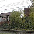 Quiévrain gare, la cabine de signalisation. A restaurer ?