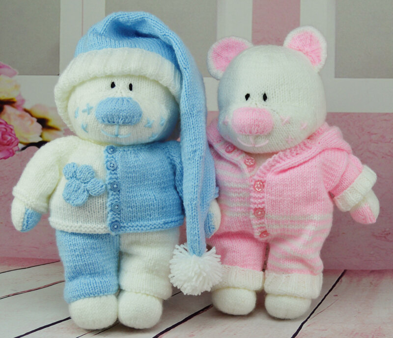 Traduction The Aventures Bedtime Bears Boo Bess (Enfants) - Knitting by Post