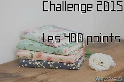 Challenge 2015, les 400 points