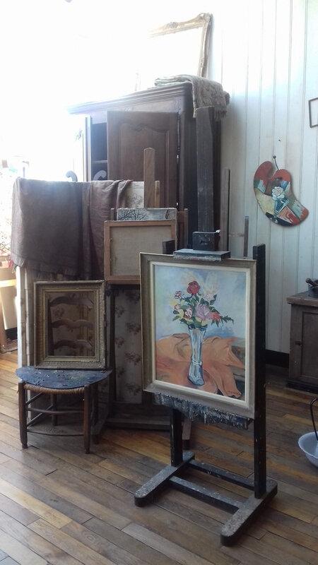 Montmartre, musée, atelier suzanne Vallandon