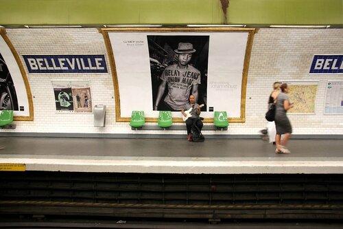14-Expo photo Bruce Gilden, Métro_9670