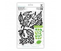 xcut-a5-dies-set-14pcs-leaves-xcu-503194