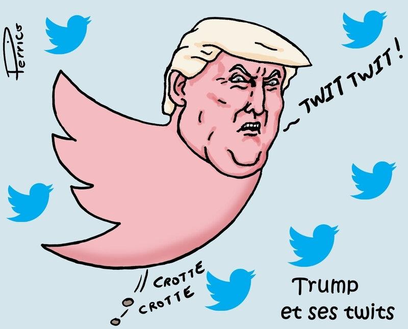 Trump et ses twits - 19 février 2019