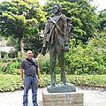 Auvers-sur-Oise - parc - sculpture VVG
