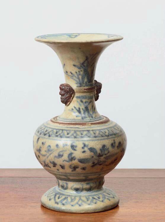 Vase, Vietnam, dynastie des Lê, 16-17°siècles, Fours de Ngoi (Province de Hải Dương)