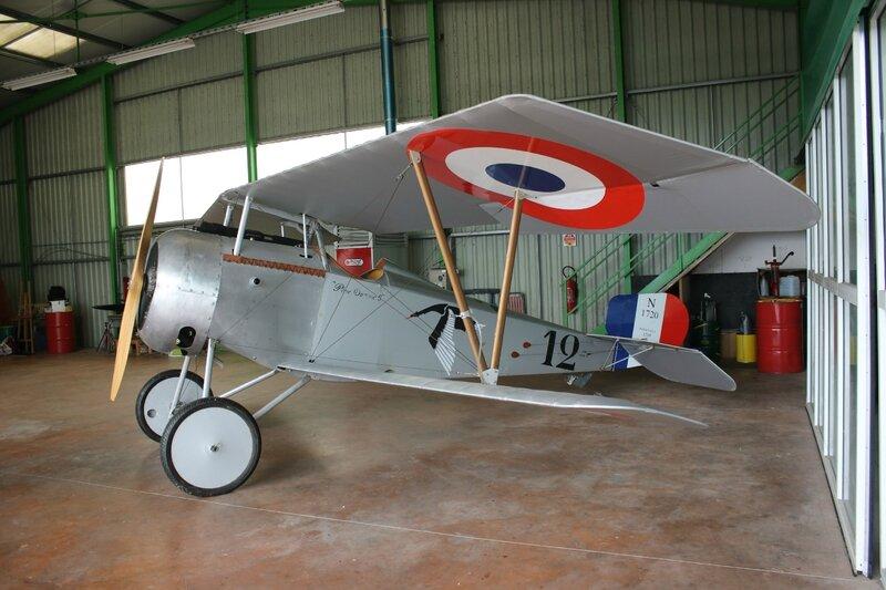 Réplique d'un Nieuport 17
