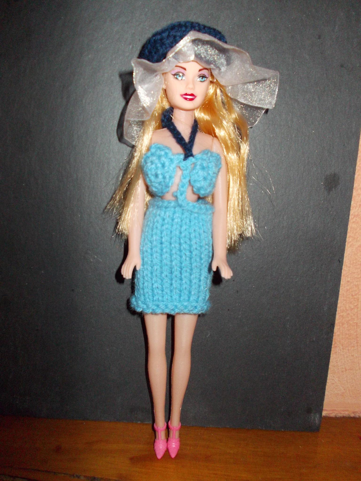 Barbie Mayo bleu