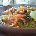 Marqa/ ragoût cuit au tajine / recette facile