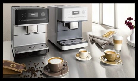 miele machines a cafe