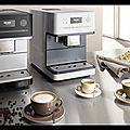 Machine à café posable cm6100 - machine à café encastrable cm6401 - miele