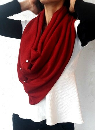 snood rouge pw