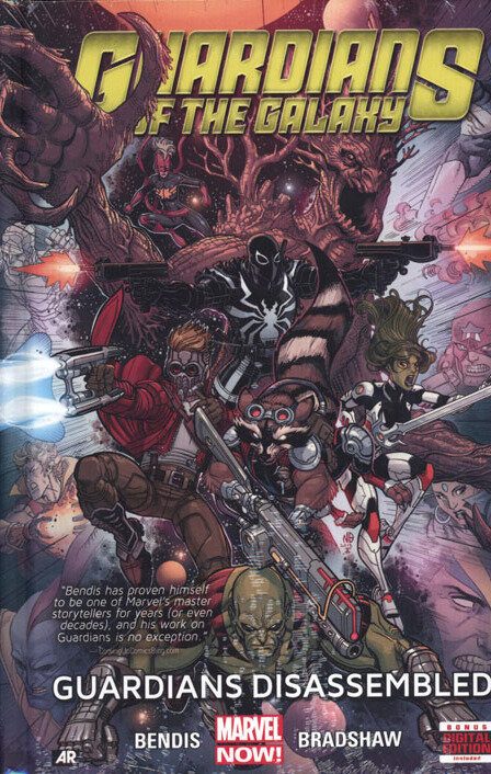 guardians of the galaxy 2013 vol 03 guardians disassembled TPB