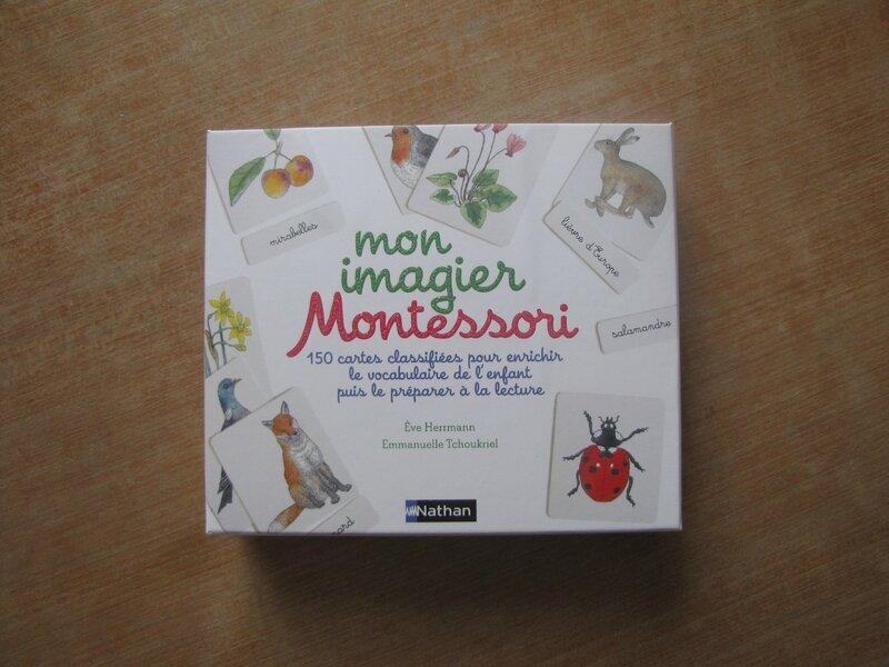 Mon imagier Montessori-Nathan