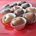 Chocolats fourrés maison