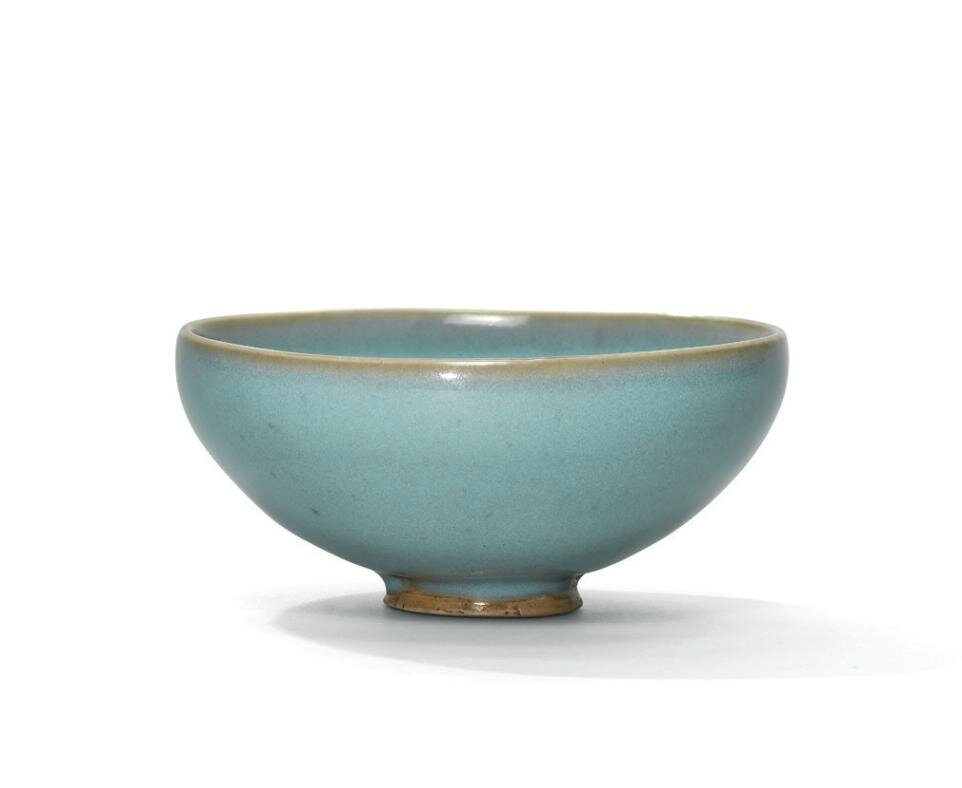 A Jun blue-glazed bubble bowl, Northern Song-Jin dynasty (960-1234)
