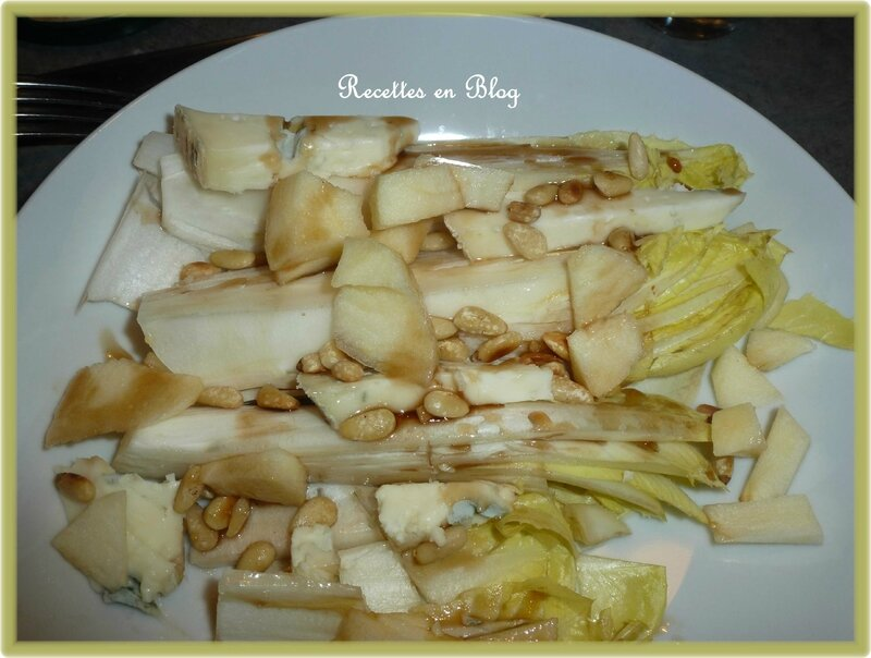 salade d'endives gorgonzola1