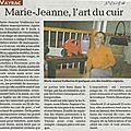 Exposition marie jeanne - suite