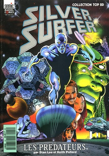 semic top BD 22 silver surfer les predateurs