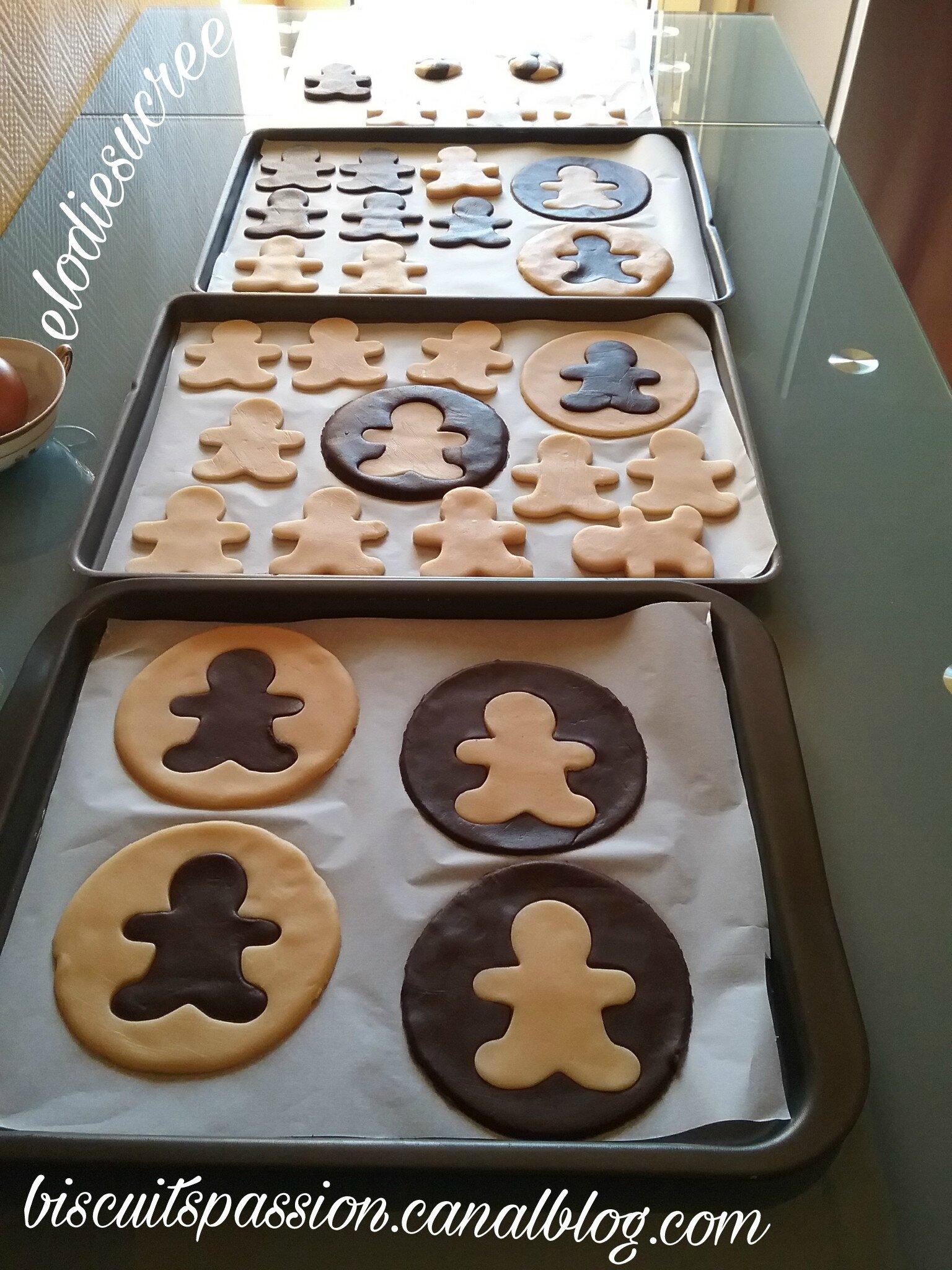 Biscuits Bonhomme vanille chocolat 050