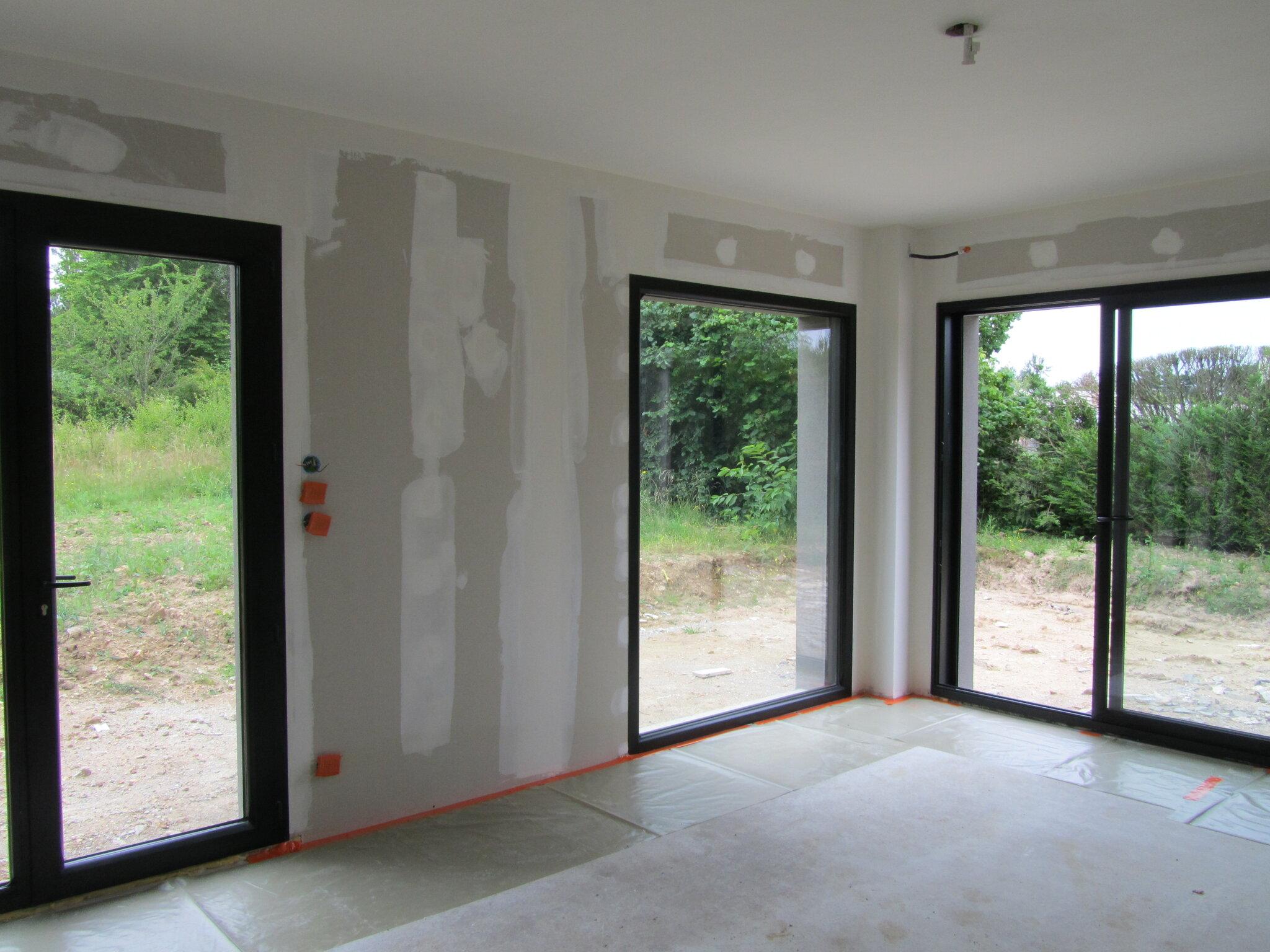 Blanchiment maison neuve sur placo s a s balzac peintre deco produits naturels ravalement - Peinture maison neuve ...
