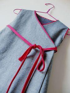 robe croisée 3