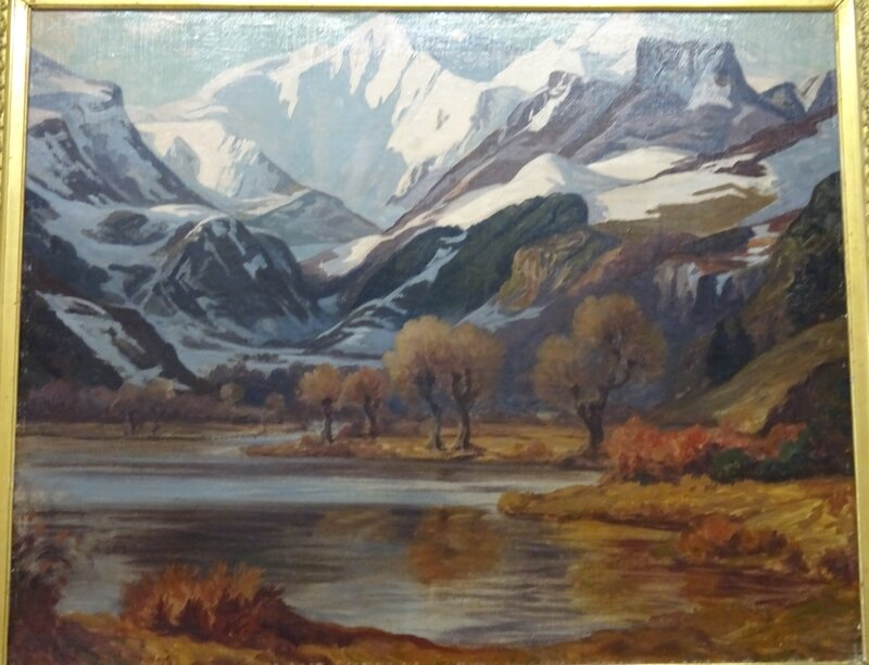 Armand Point Vallée de CHAUDEFOUR 1923