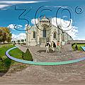 Chapelle notre-dame du château des ducs de la trémoïlle (time travel 1500)