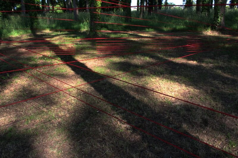 Territory 2015 installation in situ Domaine Du Landreau