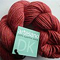 Nouvelles couleurs en alpaga artesano et manos silk blend