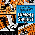 Lemony snicket -