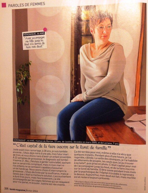 Elles ont dû interrompre leur grossesse - Santé Magazine - Février 2014_3