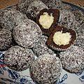 petits gâteaux fourres a la crème de noix de coco
