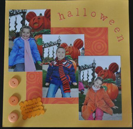 photo halloween recadre
