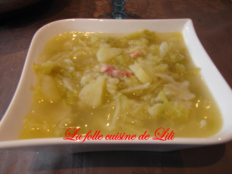 Soupe De Choux A L Ancienne La Folle Cuisine De Lili
