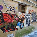 [street art in l'isle-sur-la-sorgue] au hasard des ruelles....