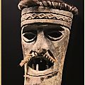 Lisbonne - museu de oriente : collections: masques du timor oriental