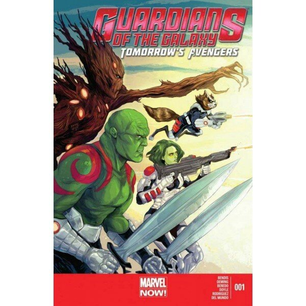 guardians of the galaxy tomorrow's avengers