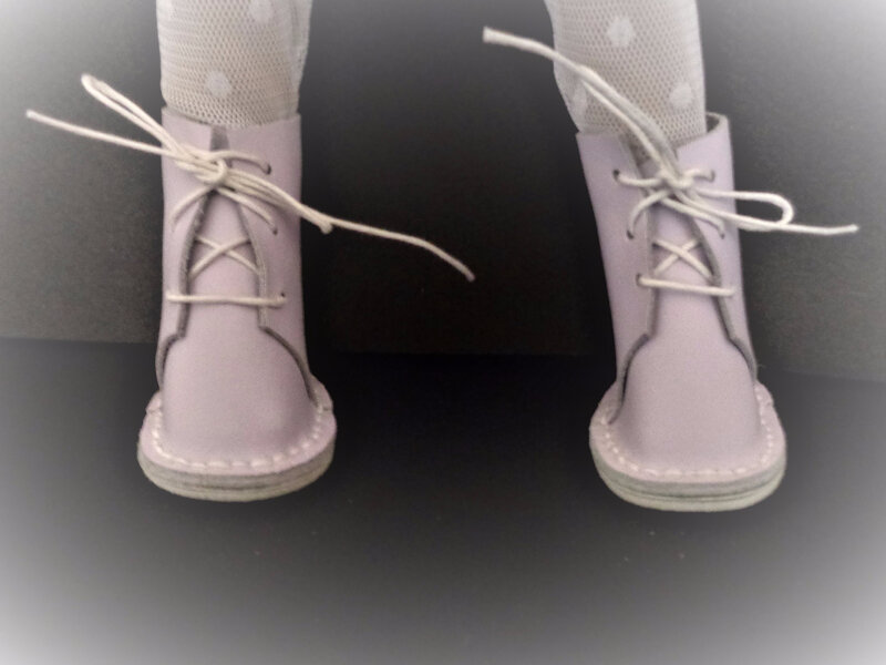 a mini maru chaussures purple