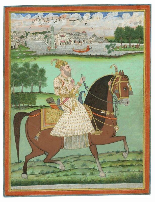 is_2_1343_equestrian_portrait_of_jafar_khan_849_kb