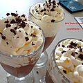 Milk shake chocolat chantilly