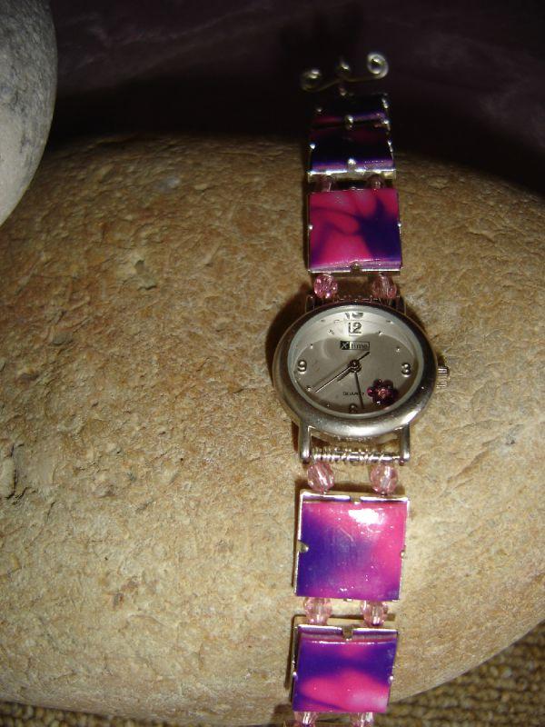 montre qui a retrouvée une nouvelle vie