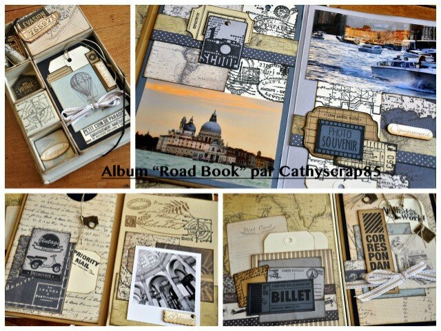 visuel_albumroad book par Cathyscrap85