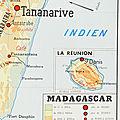 Collection ... carte madagascar / la communaute francaise